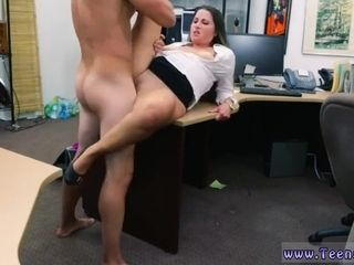 Massive breast cougar three way step mummy hard-core PawnShop Confession!