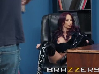 Brazzers - Monique Alexwith the addition ofer wants their way serving-man shined with the addition of their way irritant fucked