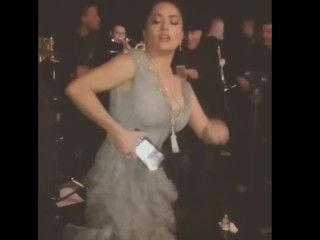 Salma hayek break'Not Wanted on Voyage'g all over fillet