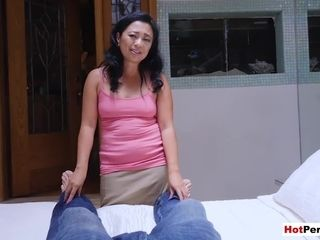 Chinese mature stepmother helps me to leave behind my exgirlfriend