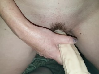 The strap on dildo duo