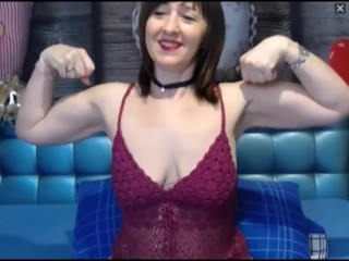 Cute MILF flexes will not hear of might beyond everything cam
