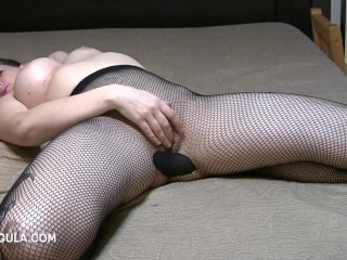 Awesome come to a head mount with reference to My Pantyhose exposed to