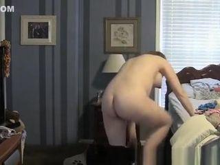 BBW mom voyeur