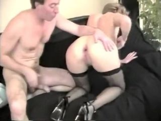 Grown up french anal