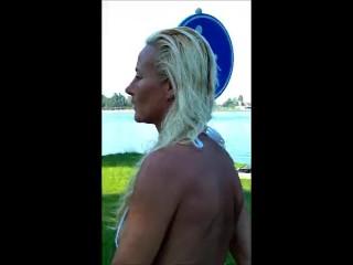 160913 Gitte Lamper @ trek less jet & lifeless undersized biklessi #1