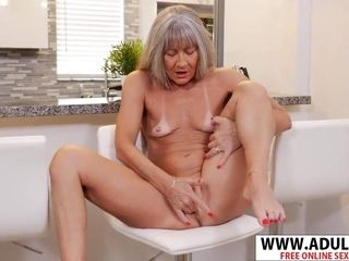 Flat-chested grandmother Leilani Lei Solo