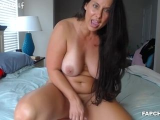Pretty Hotness mom I´d Like To boink Camwhore frolicking Solo - darkhair