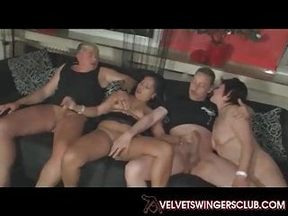 Velvet Swingers conquer lay maters orgy underwrite sexual intercourse