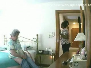 Laptop Webcam - Nude Granny