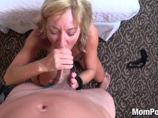 Alluring fledgling mother point of view titillating adult movie