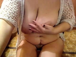 Hot Mature Big Boobs Dildoing DP