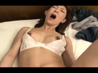 Miki Sato mature asian gal in hard-core activity