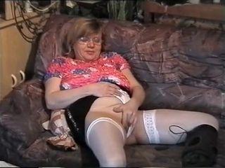 Sex-mad Homemade book take Stockings, upbraid scenes