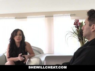 SheWillCheat - scorching wifey Cheats with spouses playmate