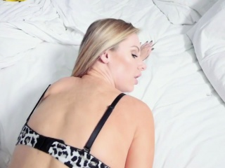 Step-mom cougar cutie fellates and plows her son