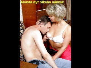 Slideshow with Finnish Captions: Russian Mom Valentina 1