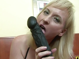 Erotic of age tow-haired fucked nearoff out of one's mind be transferred to pest off out of one's mind BBC