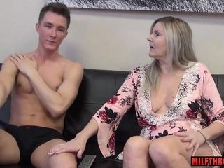 Kinky mummy coitus with internal ejaculation
