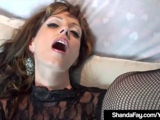 Insane Housewife Shanda Fay smashed By stagging crank!