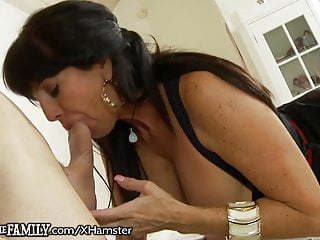 OutOfTheFamily Latina milf mummy steamy For Stepson's Member