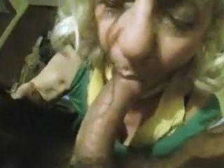 Pov granny sucking hard cock for hard cash