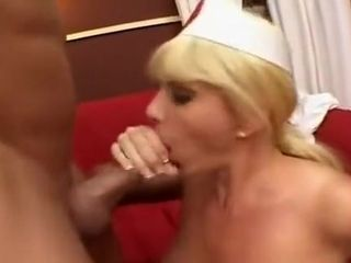 Nurse of fabulous huge Titis