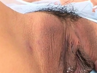 Stunning caboose asian wifey ass-plow plow sequences at home with spouse