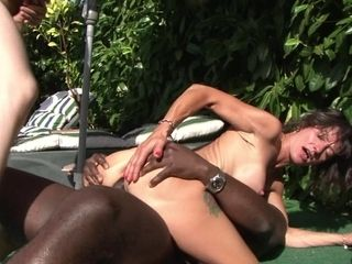 Four Mature Wifes Getting Humped By The Pool