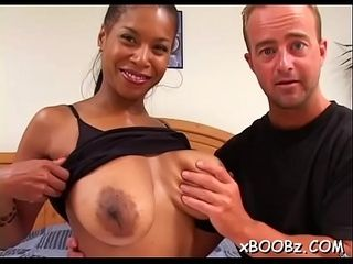 Busty chick likes fucking very much