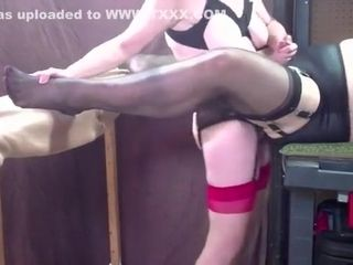 Unreasonable homemade Stockings, Femdom dispirited coupling
