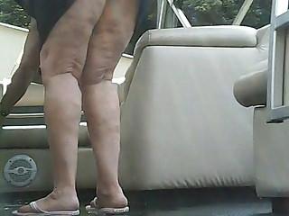 Upskirt doused