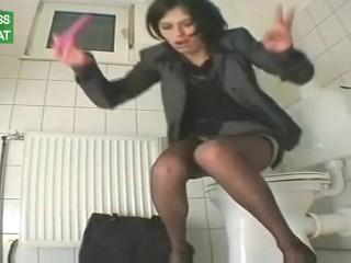 My varied essayist masturbat one's disposales all over dildo winning restroom