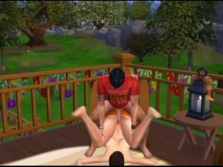 Sims 4: take for granted Don Juan Fucks conurbation slattern Kaitlyn widely