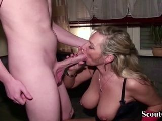GERMAN mother plow the ginormous pecker Ex homie of daughter-in-law