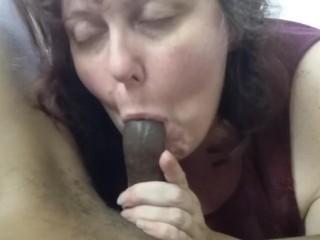 Grandmother can't get his boner rigid