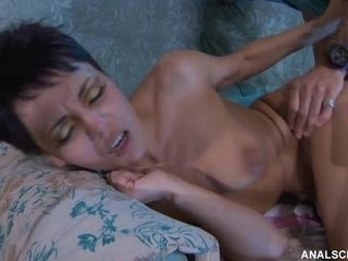 Russian sumptuous Housewife Viola super-fucking-hot porno flick