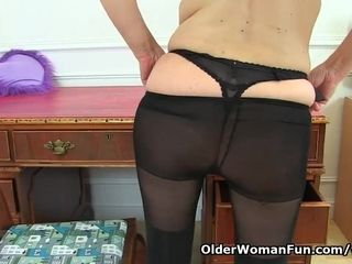 UK cougar Annabella Ford will be your ultra-kinky assistant