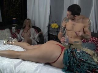 Swingers Get A insane rubdown at North Georgia Resort- 4Sum jism rigid!