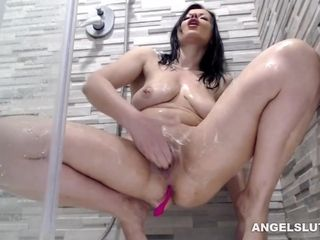 Shaven fuckbox Snatch mummy Camwhore taunting And Coochie rubbin'