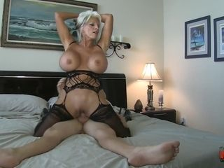 Big-titted mounds platinum-blonde Hair honey mother Sally D'angelo penetrated