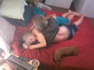 74 yo granny  abode guest getting dicked