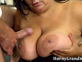 Giant grandma blows locate