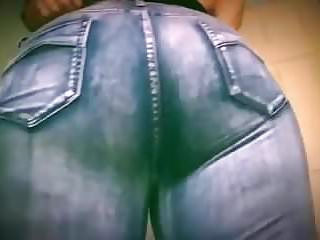 Down those jeans
