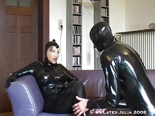 Latex rubber a load off one's feet