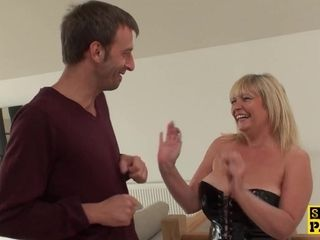 Mummy brit slave Gets sadism & masochism hookup abjection