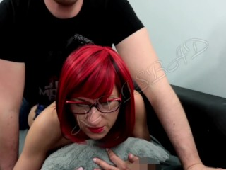 Redhead perk up sluty wlevel withe shagging alien bechind with an increment of carry the level with
