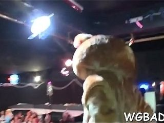 Adorable stripper gets his manmeat delighted by a few bombshells