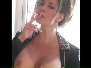 Matured Smoking amulet heavy titties