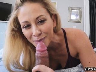 Cougar hunter utter and enormous melons cleaning mummy Cherie Deville i